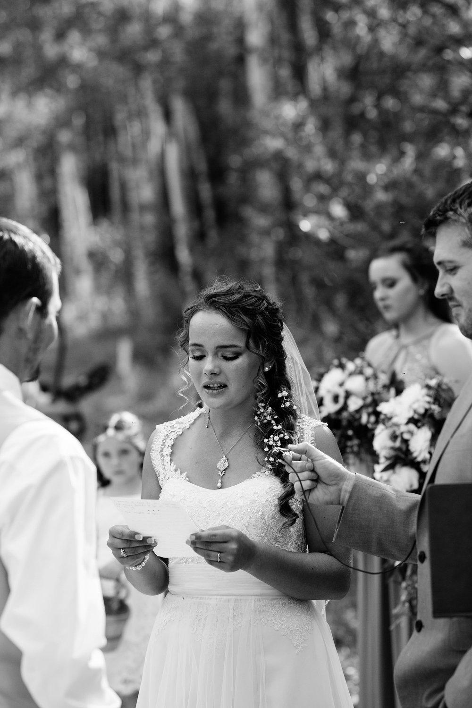 Emotional Intimate Wedding Vows Personal Bride