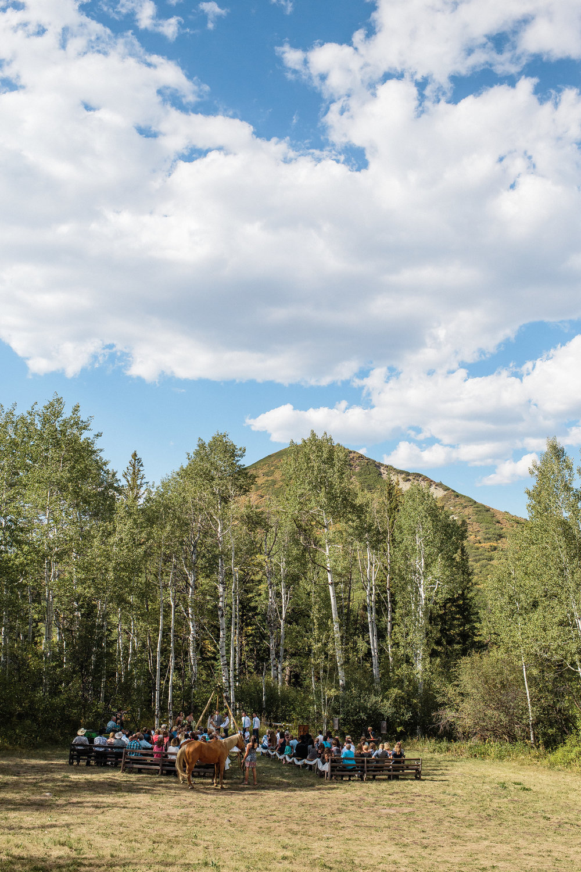 West Slope Colorado Mountain Intimate Wedding