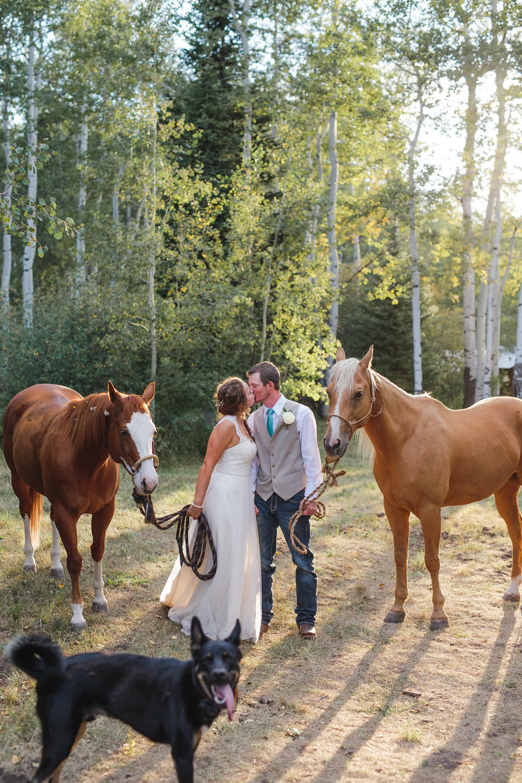 Twin Peaks Bible Camp Colorado Wedding
