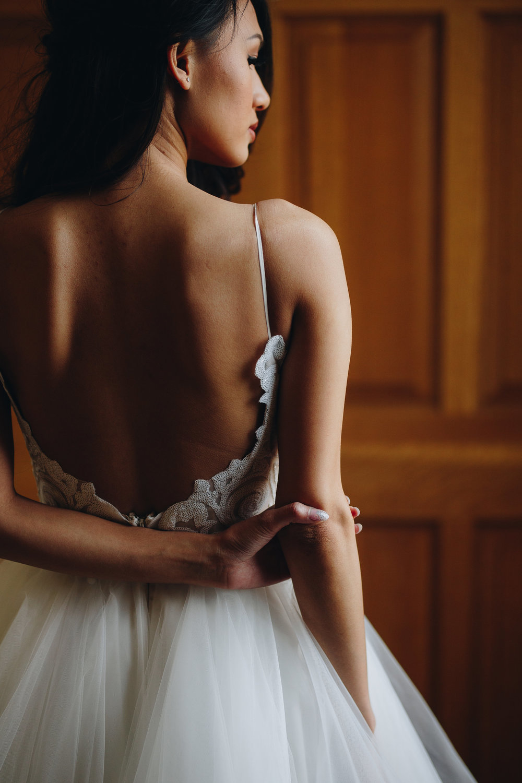 Colorado fine art wedding photographer Hayley Paige dress