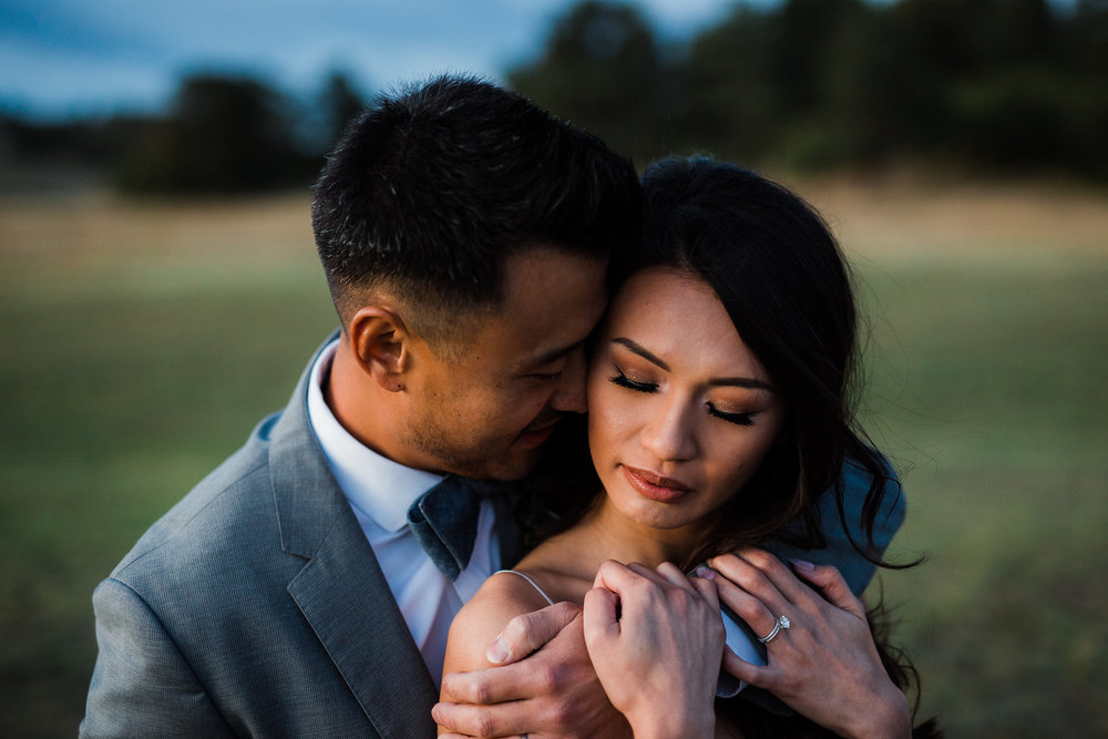 Intimate wedding photographers in colorado