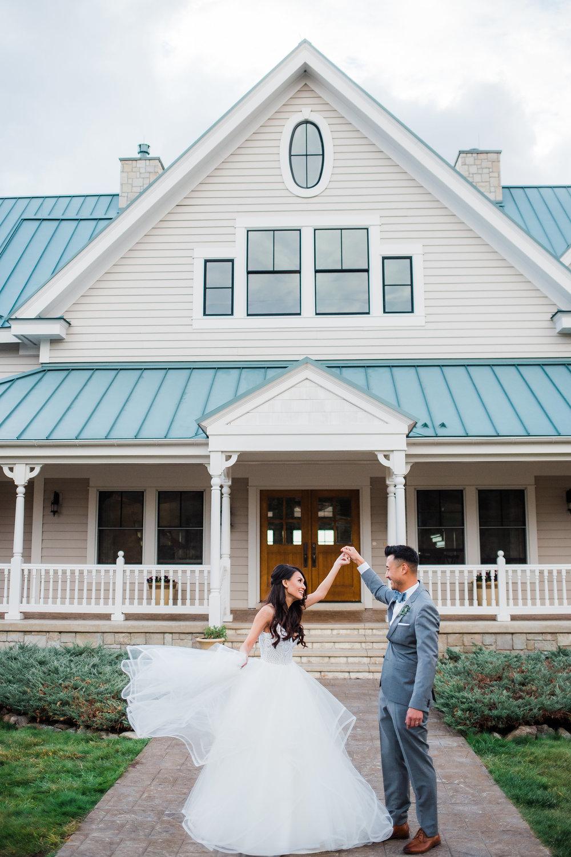 Adventure wedding photographers in Colorado