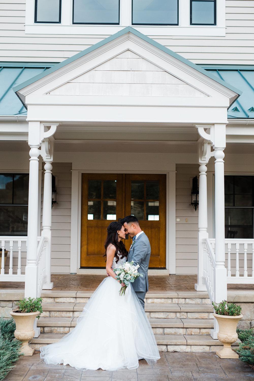 Fine art wedding portraits at Flying Horse Ranch in Colorado