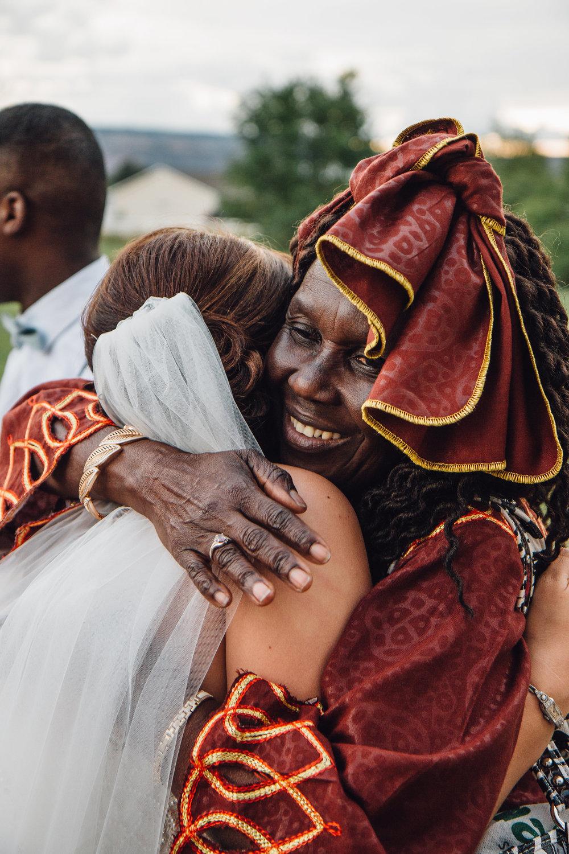 Multicultural wedding in Colorado