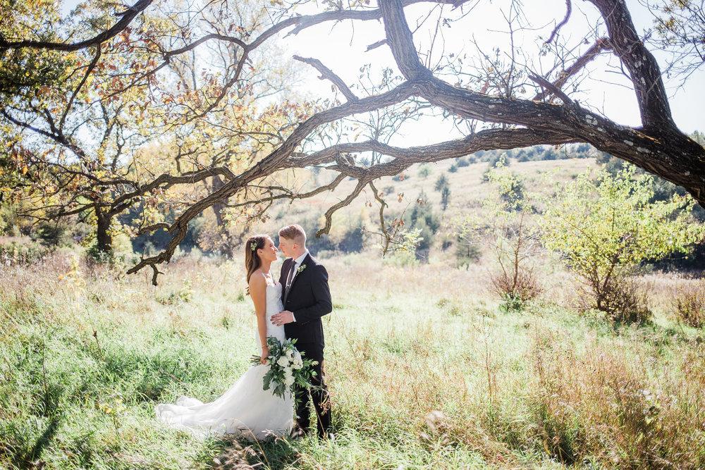 Ranch wedding portraits Minneapolis wedding inspiration