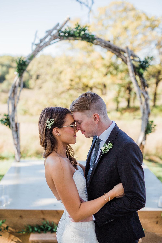 Intimate wedding portraits Twin Cities Minnesota