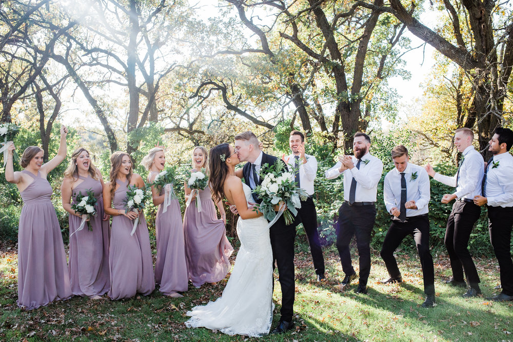 Bridal party group picture inspiration