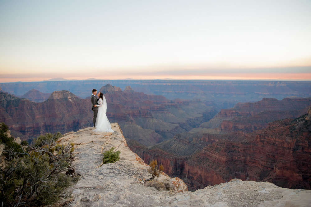 Grand Canyon National Park wedding photography
