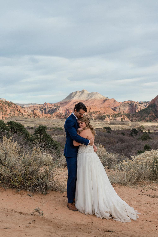 Zion National Park Wedding Photographer Kolob Canyons