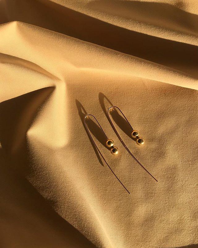 🕊 the east coast double drops #handmade #tillyjewellery