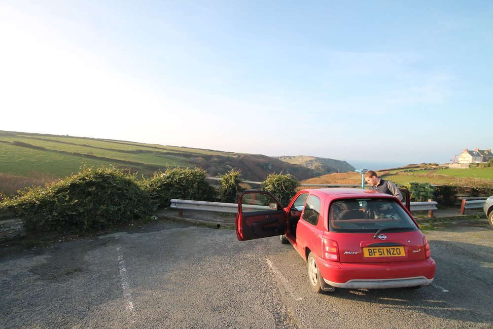 5 stars for Charlie who has driven me around all of Cornwall on the weekends!