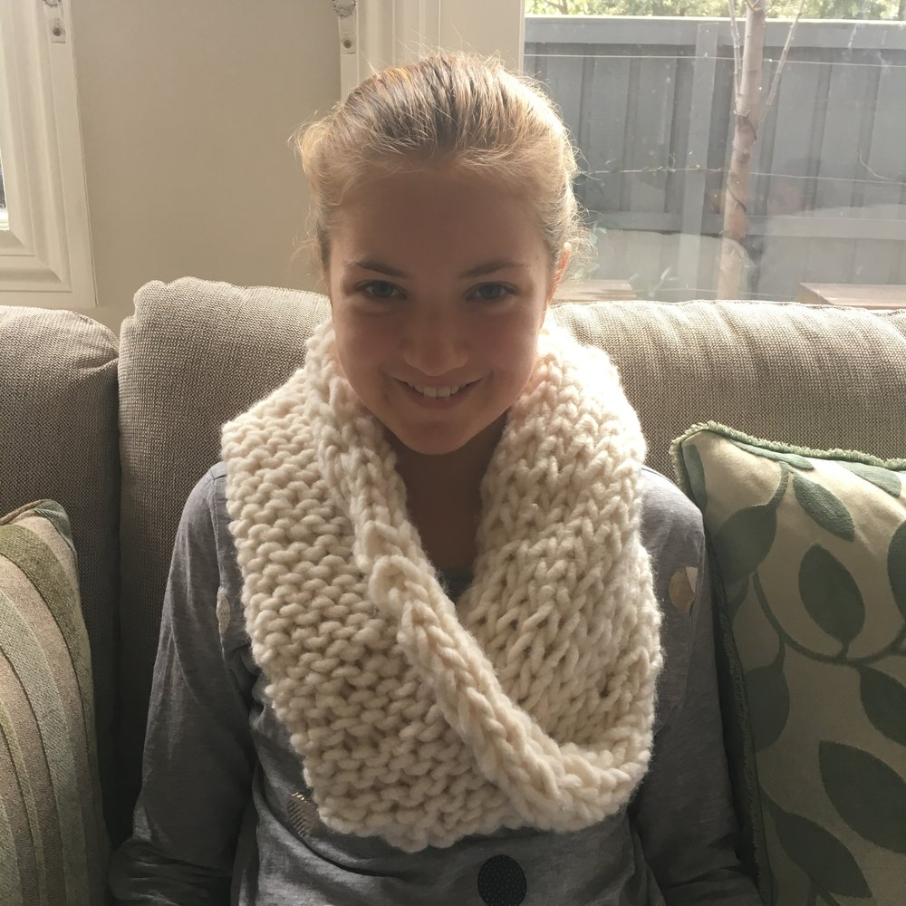 Eva and her snood
