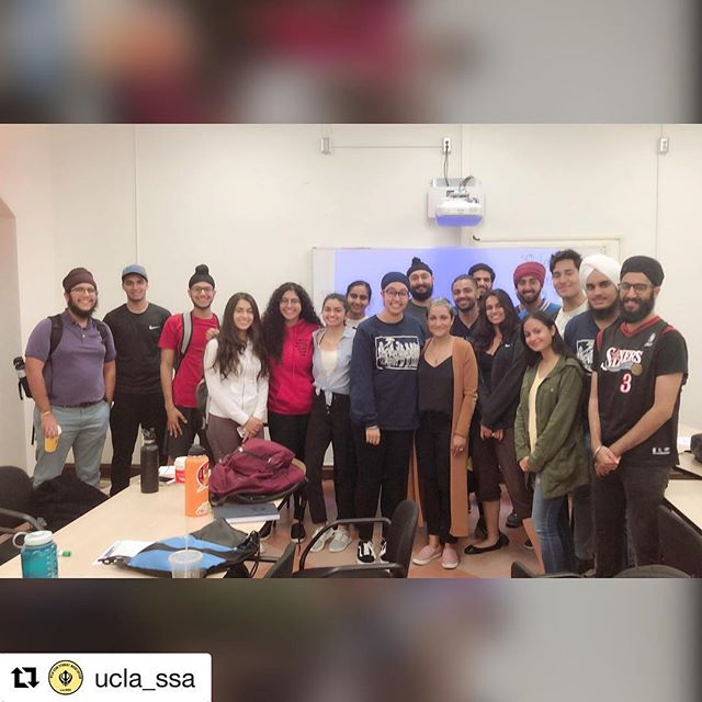 """#Repost @ucla_ssa with @get_repost ・・・ Thank you @sundeepmorrison for coming last night and opening the eyes of our Sangat. To be in the presence of someone who has a story to tell the world is a reminder that Sikhs are still seen as """"others"""" even amongst our American brothers and sisters. Check out @ragheadusa if you want to learn more!"""