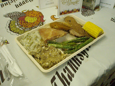 Thanksgiving dinner in prison