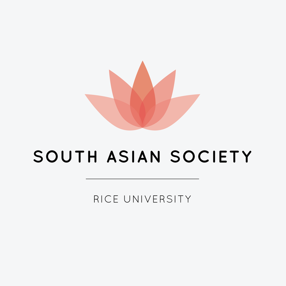 Rice University South Asian Society's new logo, unveiled October 2016.