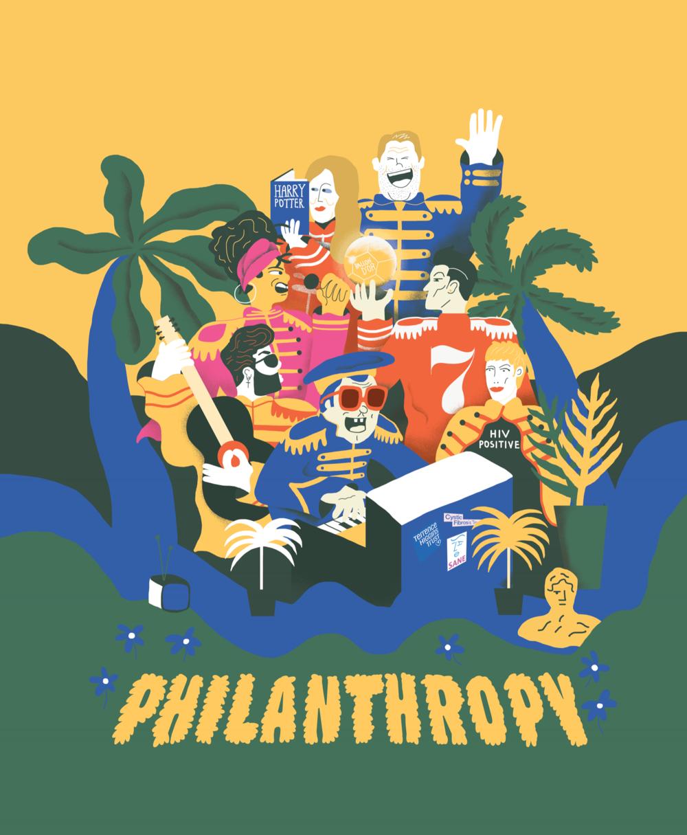 Celebrity Philanthropy in the U.K