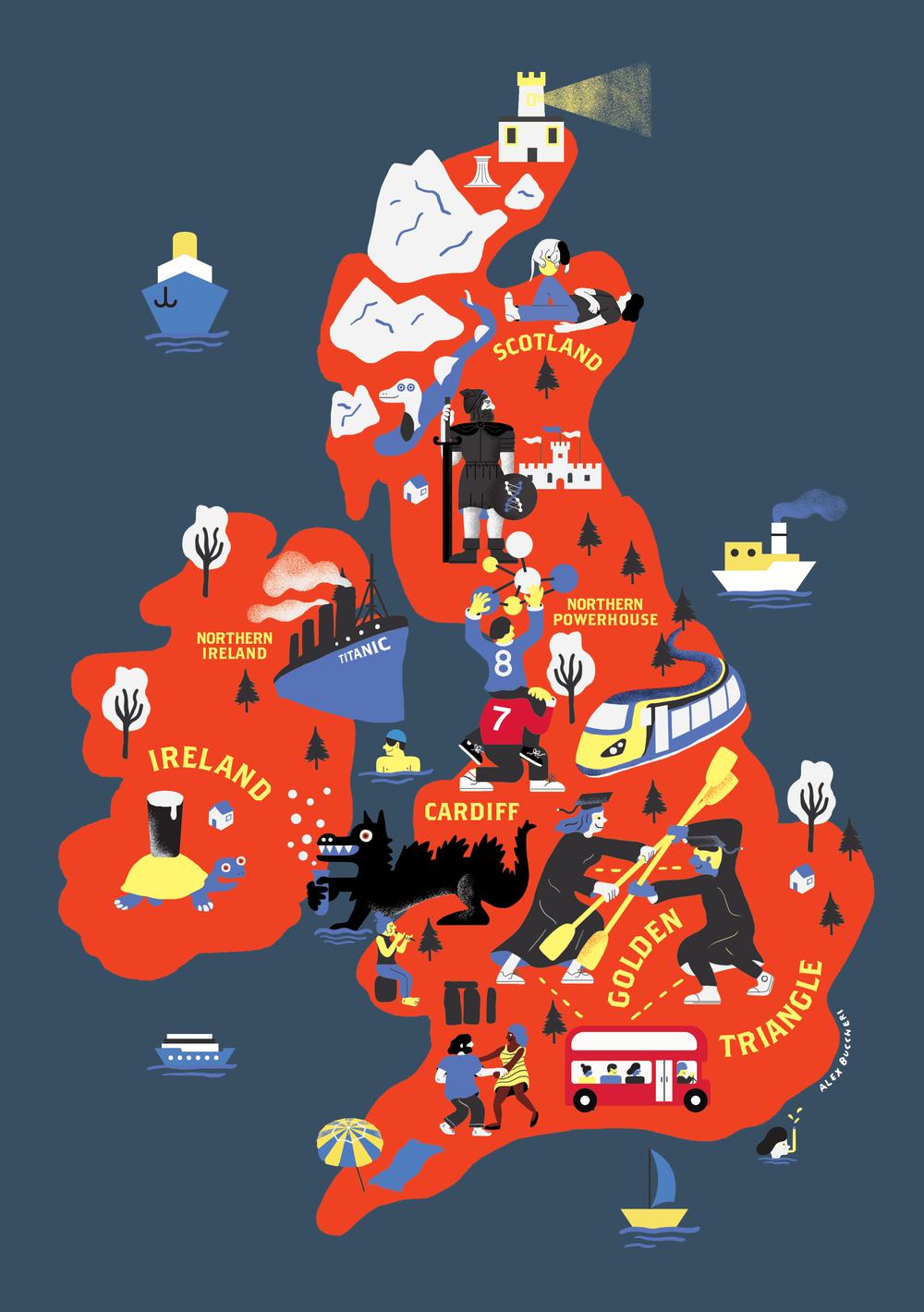 R&D Hubs in the U.K