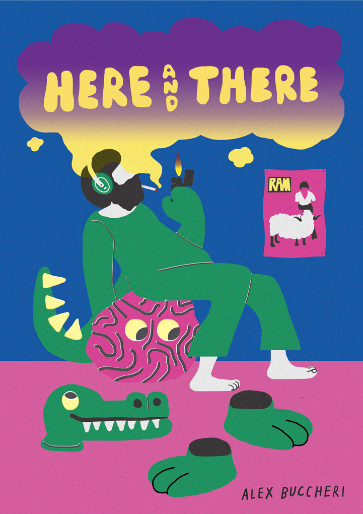 Here and There zine