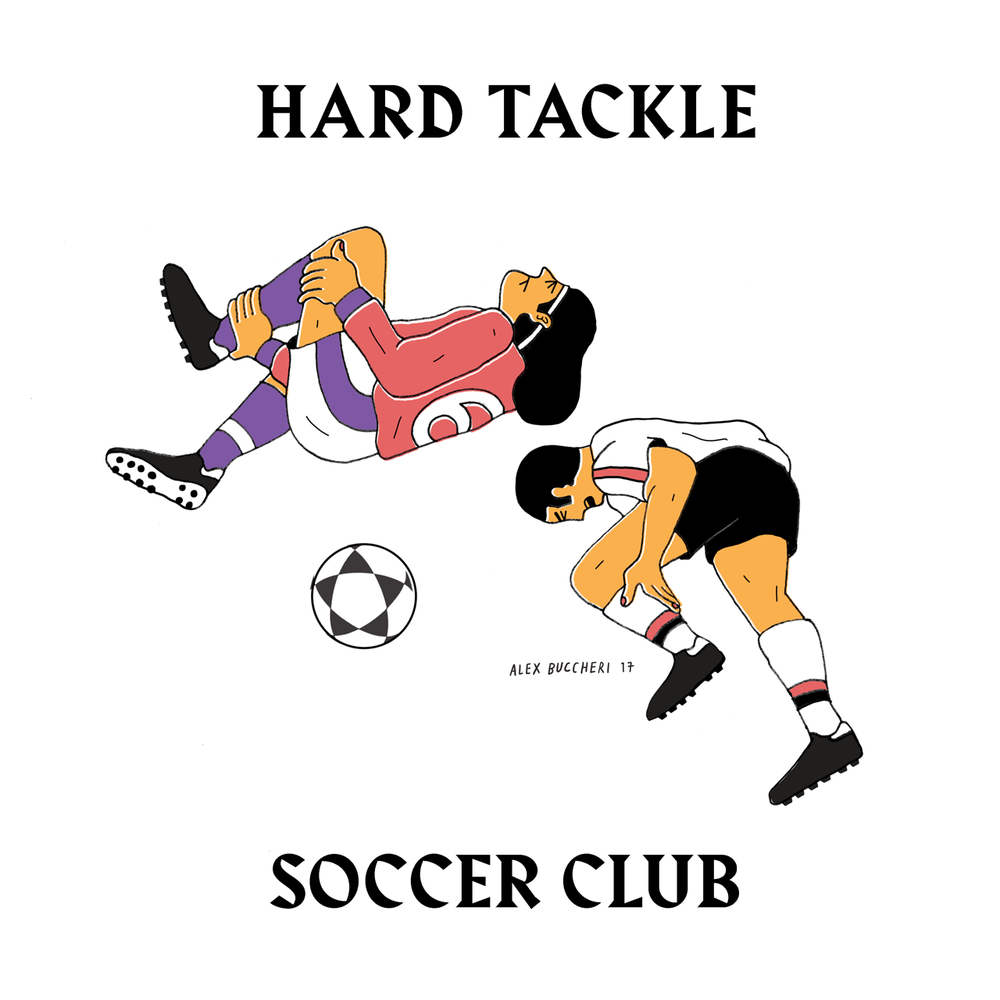HARD TACKLE S.C. — 2017   Printed Tee   available $30  email your size to alex.buccheri@gmail.com
