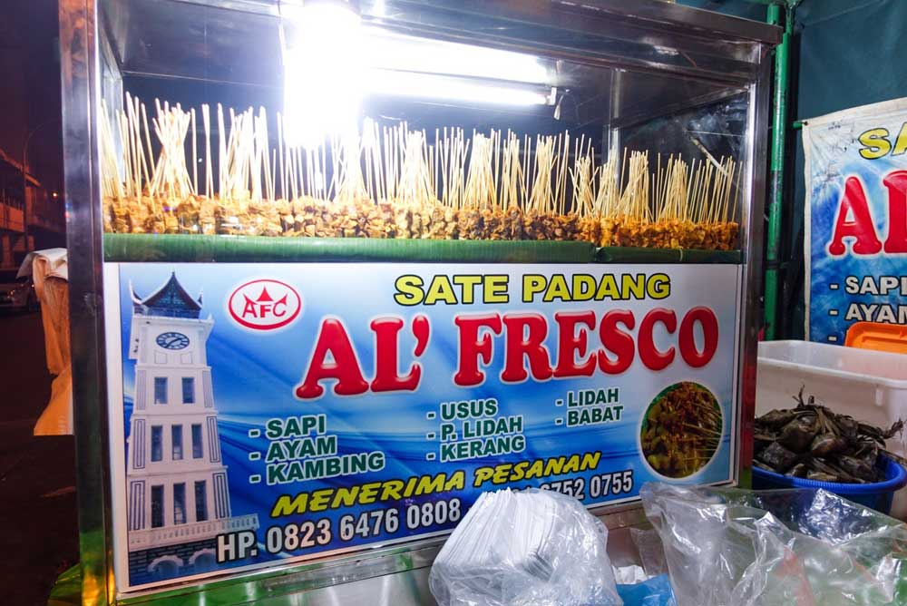 Sate Pdang Al'Fresco - BEST SATE PADANG!