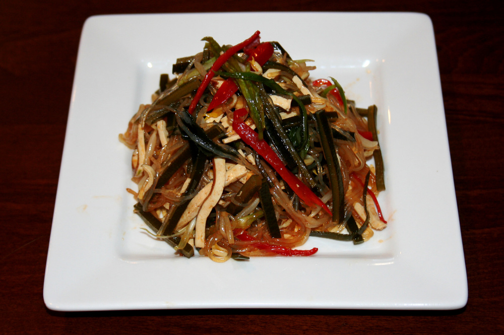 Seaweed&Bean Curd in Vinegar Dressing