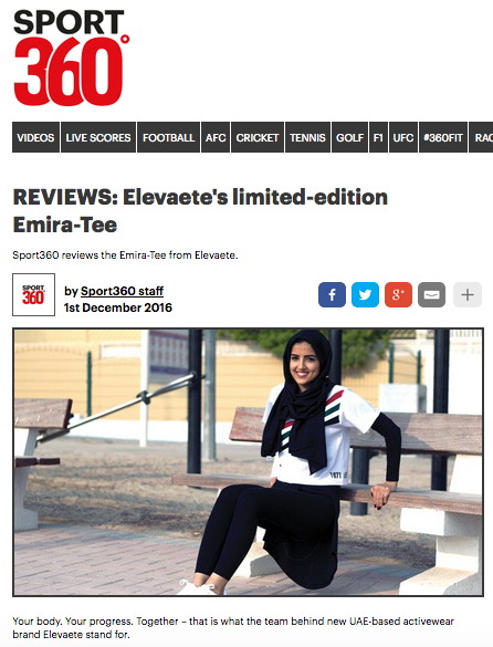 Sport 360 November 2016  Reviews: Emira-Tee