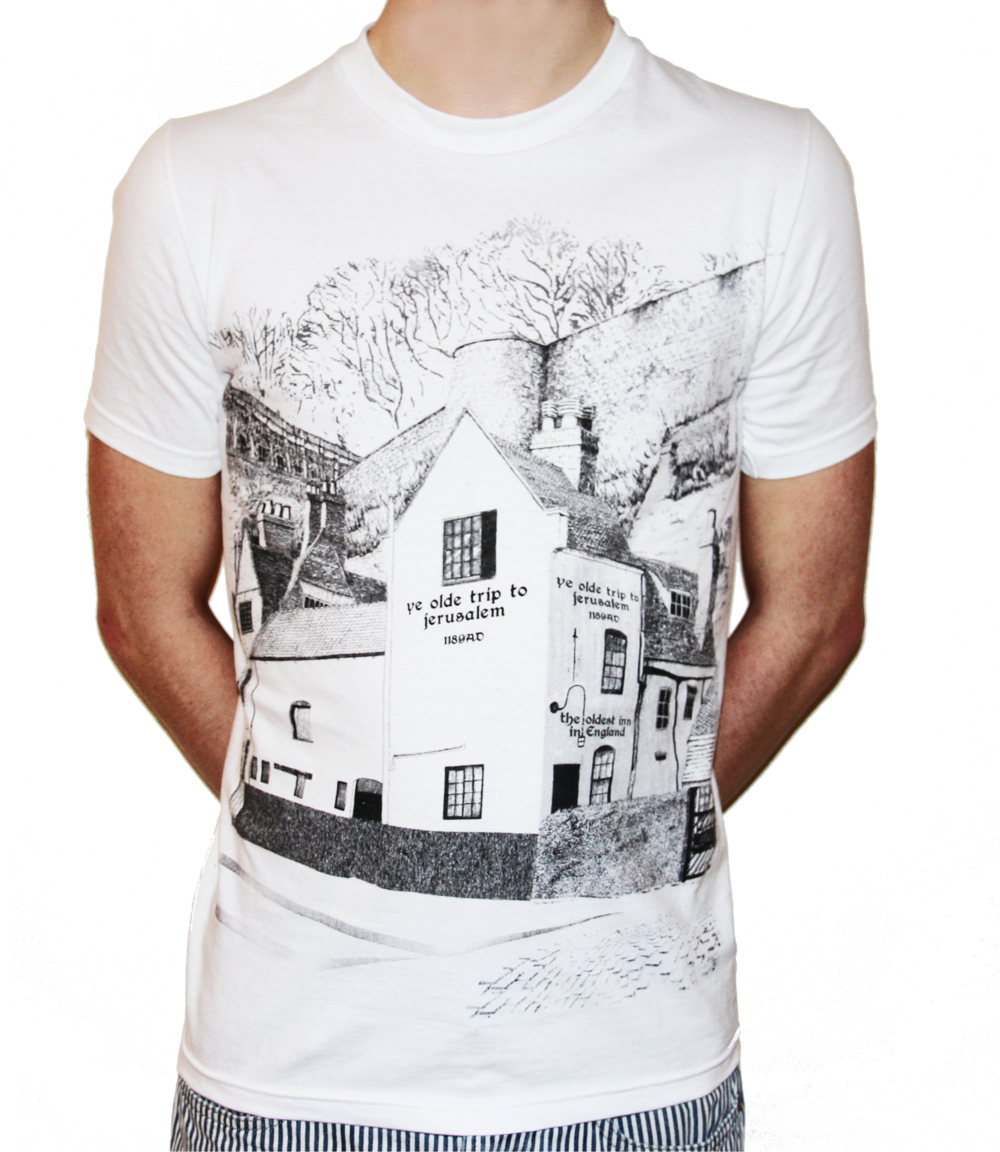 If you are on a trip and just visiting then you may want to take something home for all your loved ones.  These t-shirts feature a drawing of the famous building. Perfect!