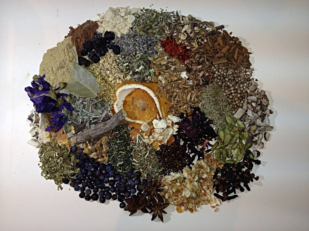 Some of our Gin botanicals....along with Juniper many other botanicals can be used to create a great Gin! We stock a huge range of botanicals that our distillers use to create their unique flavours and styles.