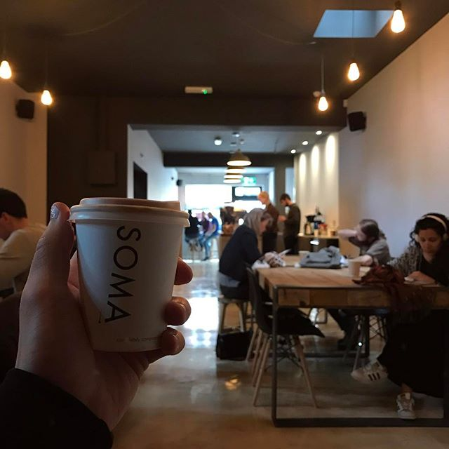 In Cork and in need of delicious coffee? Check out the newly-opened @somacoffeecompany. One of the nicest flat whites we've had in a while ☕️