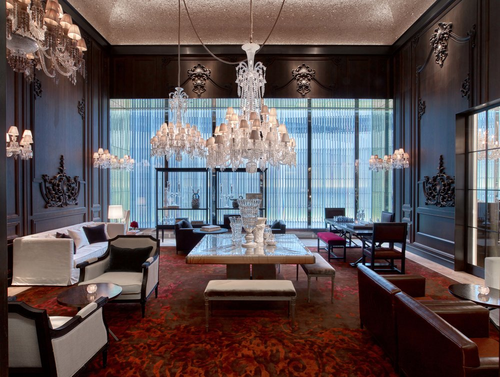 Baccarat Hotel, New York, by Gilles&Boissier