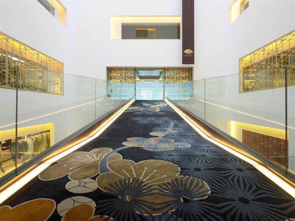 Mandarin Oriental Hotel, Barcelona, by Patricia Urquiola