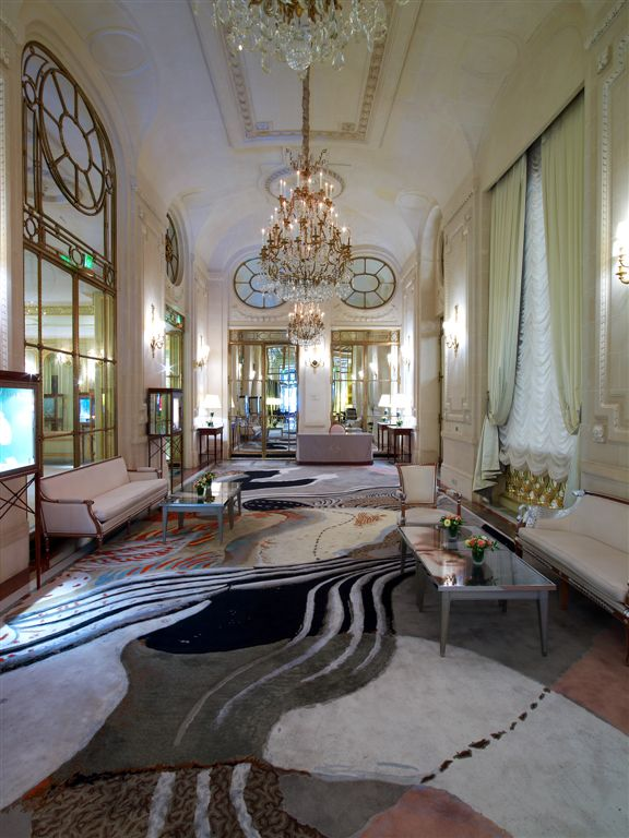 Le Meurice hotel, Salon Dali, by Philippe Starck