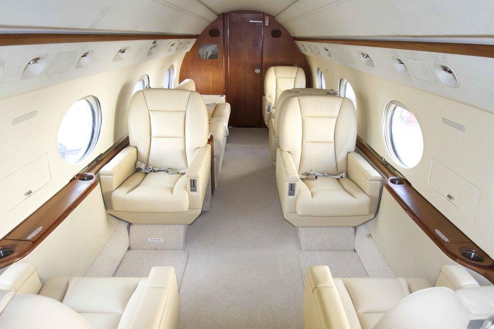 Gulfstream N256LK