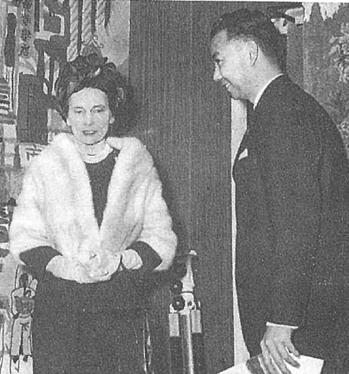 - The Duchess of Gloucester and Mr Yeh