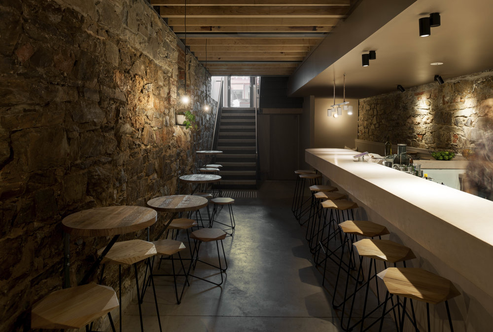 Subterranean bar - up to 35 people