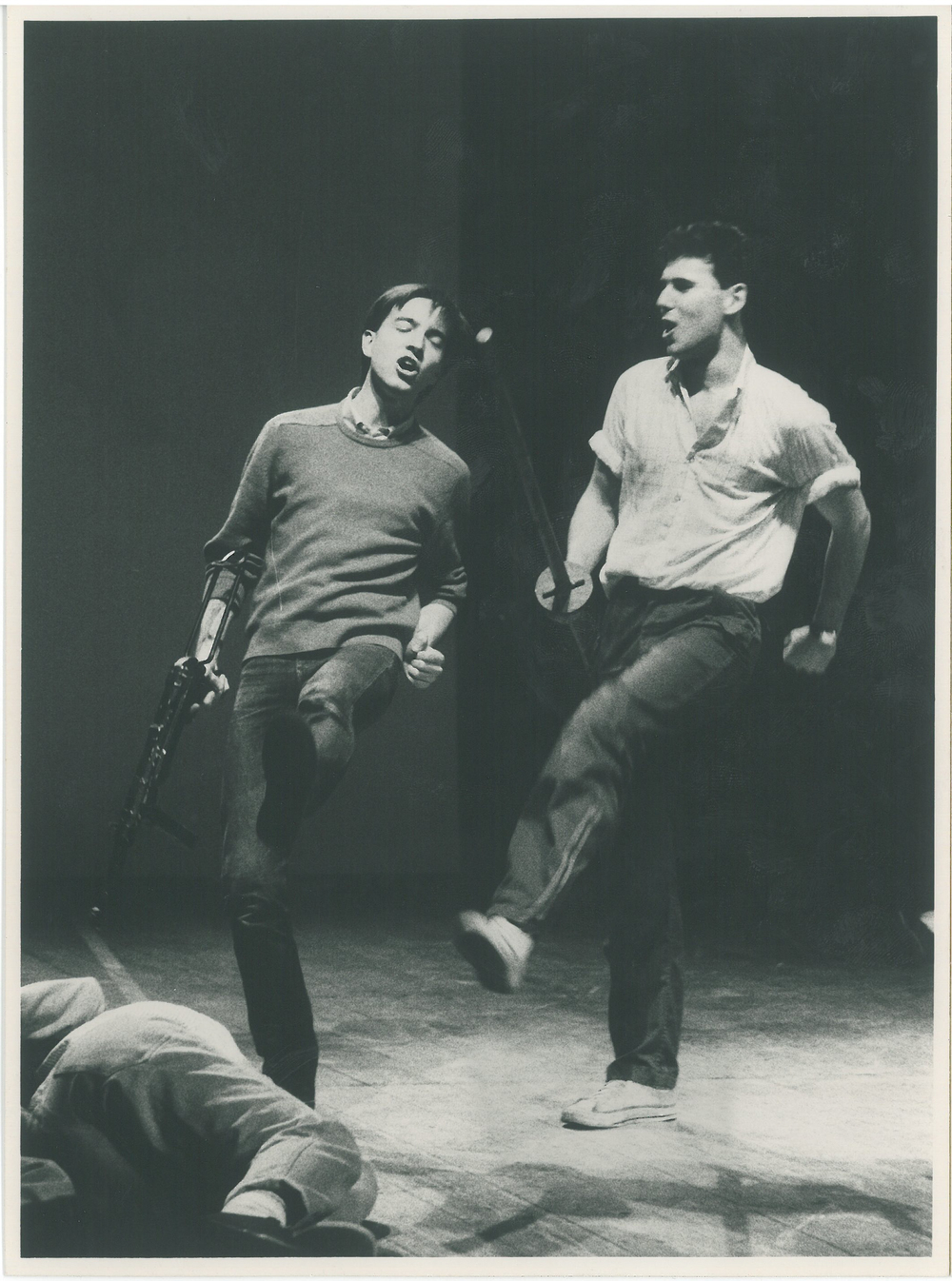 1984 Accademia Nazionale D'Arte Drammatica Silvio D'Amico - Scena dall'orate di Vittorio Alfieri  diretto da Mario Ferrero.
