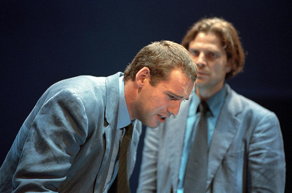Nel ruolo di Pietro in Processo a Gesù - regia Giancarlo Sepe - 1991