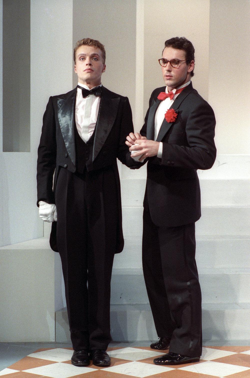 "Silvano in ""Mais e poi mais"" - con Klaus Tange - Piccolo Eliseo 1988"