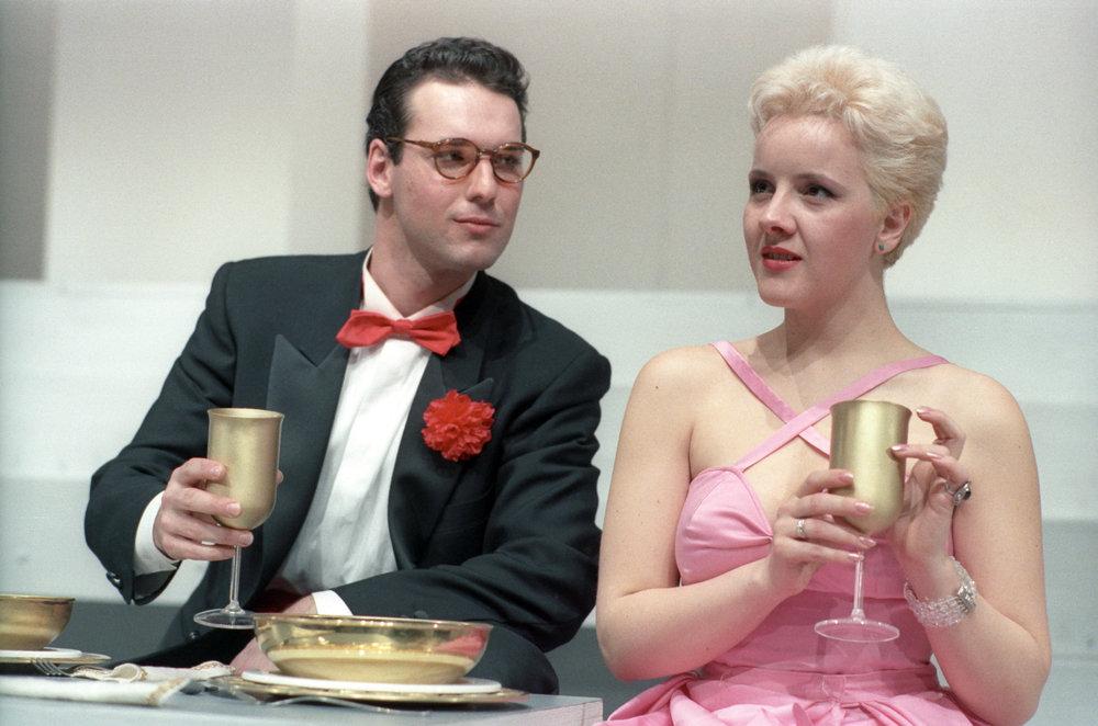 Nel ruolo di Silvano in Mais e po Mais - con Lucilla Lupaioli - 1988