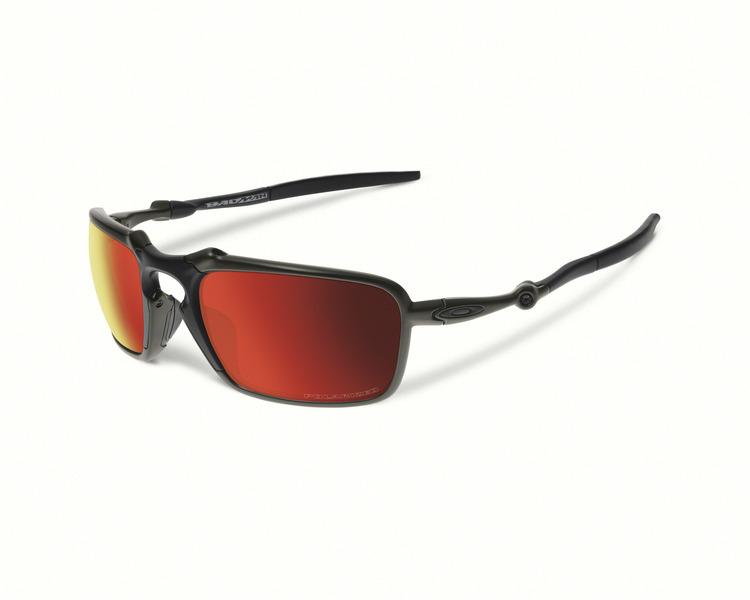369940d696 Oakley Badman® Dark Carbon Ruby Iridium Polarised — King Sunglass