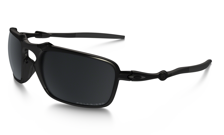 7c3e6de259 Oakley Badman® Dark Carbon Black Iridium Polarised — King Sunglass