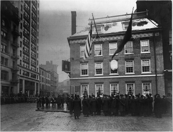 December 4, 1907 - Grand Opening of Fraunces Tavern