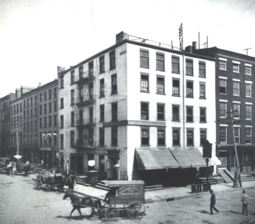 54 Pearl Street about 1888