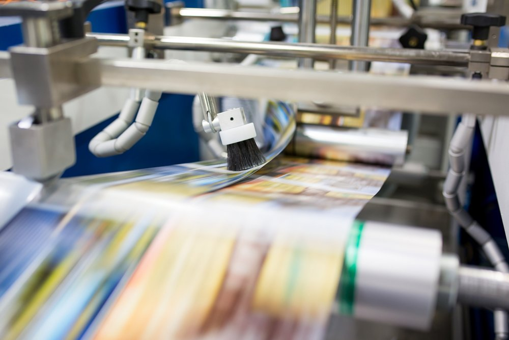 Finishing - We combine skilled craftsmanship with modern technology to deliver quality products with perfect finishing touches. Parkland's bindery equipment provide options for in-line web finishing, folding, embossing, foil stamping, die-cutting and other specialty items.
