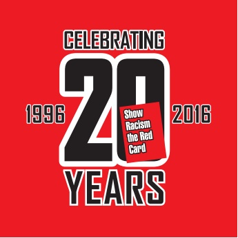 c358b720b0 Show Racism the Red Card - Press Release: SRtRC 20th Anniversary launch
