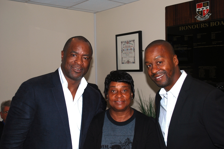 Paul-Canoville,-Doreen-Lawrence,-Eddie-Newton-Bromley-FC.JPG
