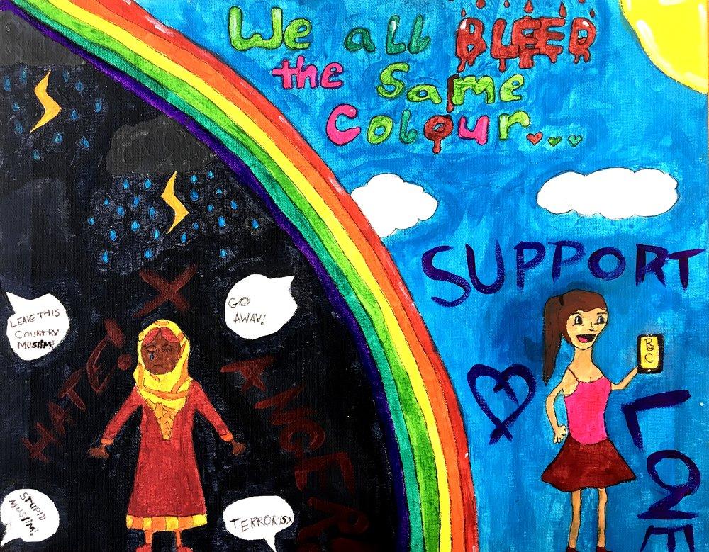 Lauren Jones - Cwmtawe Community School - Poster Design Secondary
