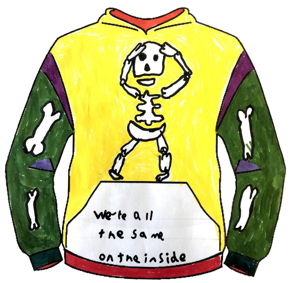 Lola Holmes - Llanyrafon Primary School - Clothing Design Years 1&2 - Front