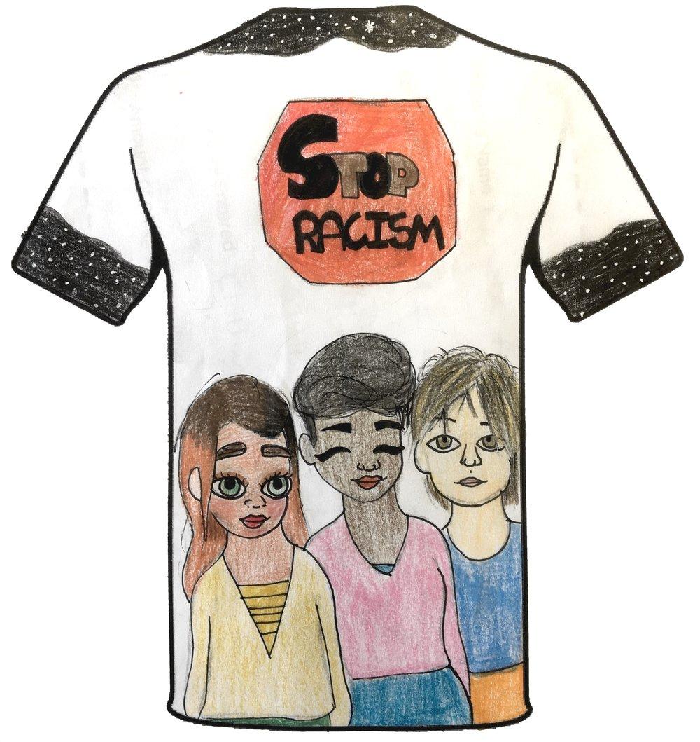 Renata Agumbiade - Terrace Road Primary School - Clothing Design Years 5&6 - Back