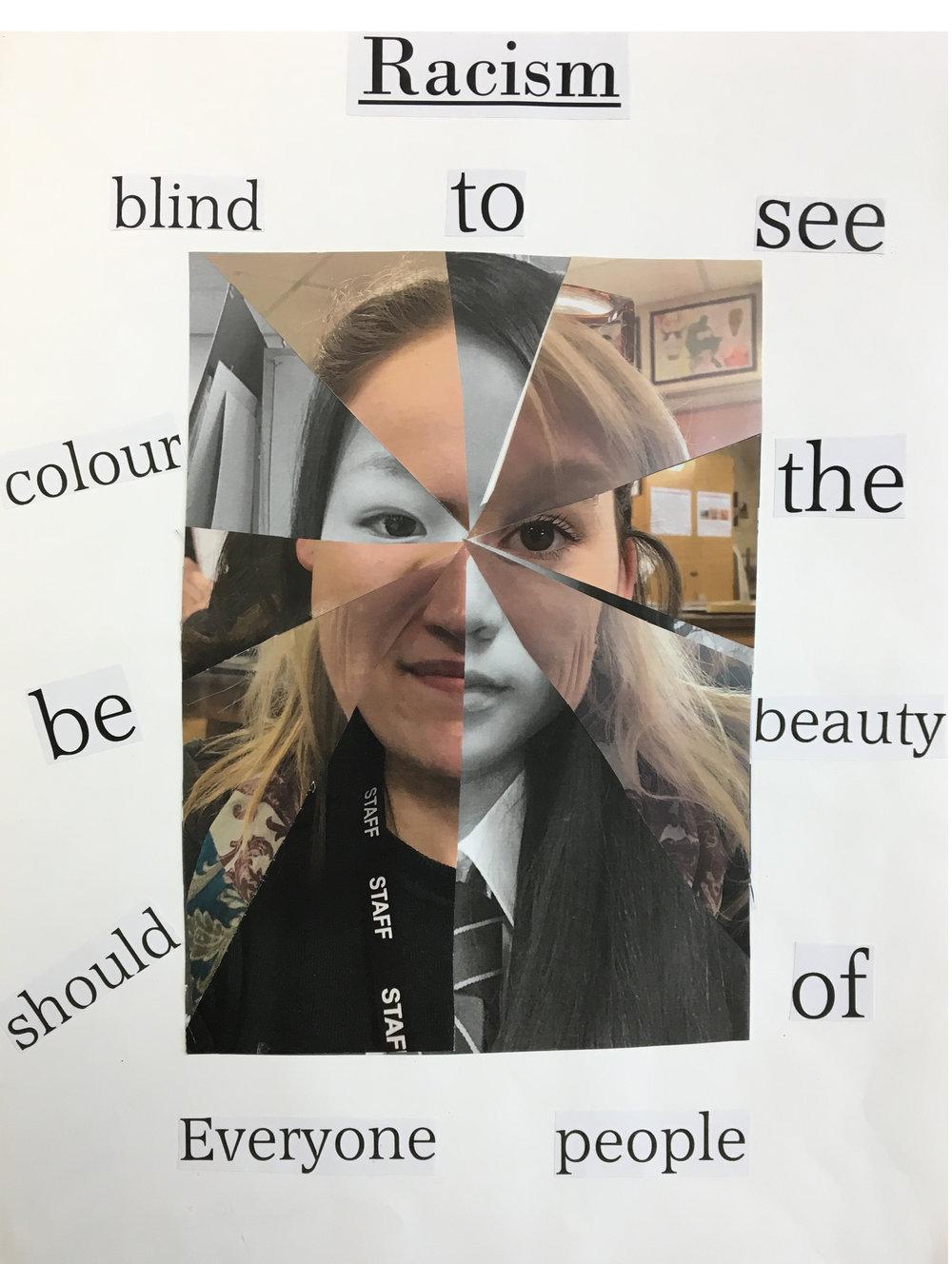 Risa Watanabe - Crickhowell High School - Powys - Special Category (Anti-Racism Advert)
